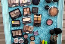 "Makeup storage / by Sarah ""Tynie"" Smith"