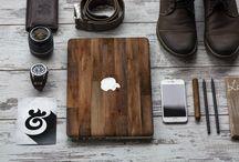 Wood & Marble Macbook