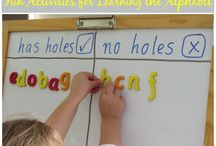 Teaching ABC Literacy activities