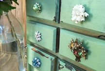 Junky Jewelry-New Life / Give costume jewelry a new life  / by Connie Stilts