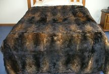Interior design uses animal skins