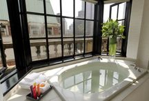 Soak. / If you share our enthusiasm for a well-crafted tub built for a warm escape from the daily grind, then boy do we have the Pinterest board for you... / by Kimpton Hotels & Restaurants