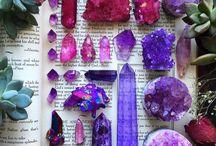 cristals, stones, gems
