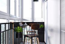 Лоджия Балкон