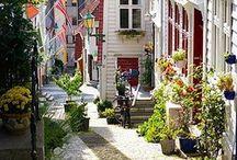 Streets of Bergen .....