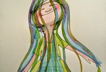 """Ilustración Almudena del Mazo / Blog """"Cada día un Dibujo"""" donde cada día realizo una ilustración que acompaño con una breve reflexión. www.cadadiaundibujo.blogspot.com"""