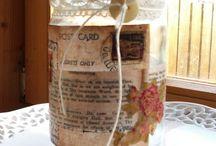 Craft / Tea light candle holder