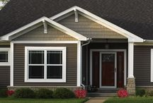 Exteriors / These are color and material ideas to give your new home the best curb appeal on the block.