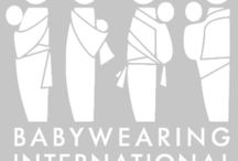 Babywearing Style / Babywearing is functional but can also be fashionable! With all the gorgeous prints and colors of baby carriers they can easily become one of your best loved accessories!