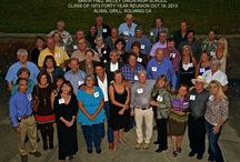 40th Year Class Reunions / Time flies!