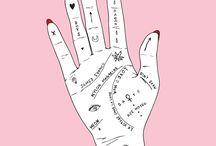 art board - PINK HANDS