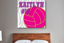 Volleyball Rooms for Girls