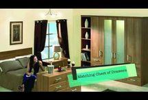 Replacement sliding wardrobe doors
