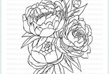 Blooming Bunch Clear Stamp Set