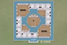 Because Work Should Be Fun! / Yes, we have office maps of all sizes. But... we also have maps of all shapes, colors and styles! Here are some of our favorites.   Learn more about Sococo or sign-up for your free trial at www.sococo.com / by Sococo