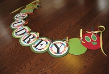 Very Hungry Caterpillar obsession / with some great birthday party ideas!