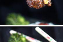 brócolis com carne