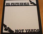 Runners scrapbook