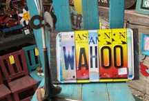 license plates / by annatgreenoak..