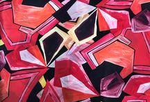 2019 SS Silk Print | Geometric