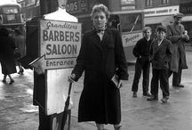Canning Town 1955, a Teddy-girl...