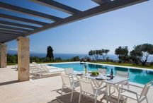 Villa Ylenia -Private Luxury Villa, Lakithra, Kefaloni / Panoramic Sea View, Open Space Large Areas, Infinity Pool, Wonderful Gardens!!! Luxury Villa Ylenia is a 5- Star * luxury villa!!! Overlooking the Ionian Sea from a panoramic position, this brand-new villa ( April 2015) offers the highest standards of quality and luxury, at the outskirts of village Lakithra in Kefalonia.