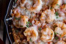 Quinoa: shrimp