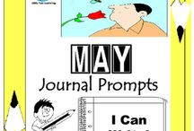 May Writing Prompts Quick Writes / May Writing Prompts Quick Writes. Creative writing prompts for everyday in the month of May. ************************************************************************ Though your students may not have highly developed writing skills to express their thoughts, they do have bright imaginations filled with all sorts of creative ideas. ************************************************************************