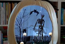 HALLOWEEN DECORATIONS AND RECIPES