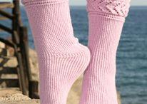 zokni horgolás