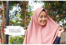 Tudung Labuh Indonesia - Hijab Syar'i - Sumire Khimar