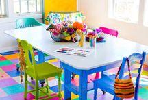 Homeschool room / by Sarah Clawson
