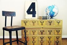 card catalogs and STYLE / by Ode To June