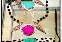 Layering Spring Jewelry / Handmade bright colored spring jewelry layer it up or make a statement with one amazing piece
