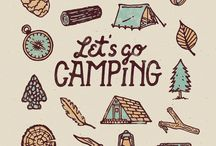camping prints
