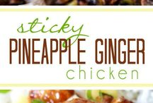 Pinapple chicken