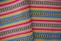 Fabric / Anything colorful & Tribal / by Charlene Swandol
