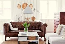 Couches and Statement Chairs