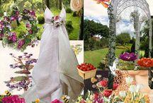 Wedding Ideas / A collection of my wedding ideas on theme,colours,decor,my dress and hair etc