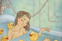 Любимая ванна.