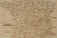 Puzzle géographique artisanal Carte de la France