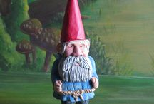 Carved Gnomes by Don Dailey / Hand Carved Wooden Gnomes from The Sunday Woodcarver