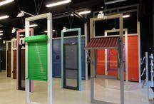 Showroom MCA IASI Romania / Cel mai mare showroom de usi de garaj si rulouri exterioare din zona de Nord Est a Romaniei
