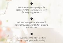 Wedding Day Tips / Valuable tips to create the perfect wedding day