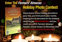 Enter Our Holiday Photo Contest! / Enter our contest and win a copy of the 2015 Farmers' Almanc! / by Farmers' Almanac