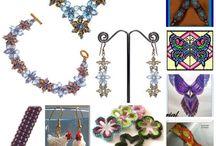 Beaded Necklaces/Earings/Bracelets