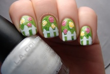 Spring Nail Art / by Rose Stumbaugh
