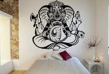 Elephant India Hindu Divinity Ganesh