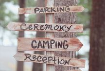 Wedding {Lets go camping!}