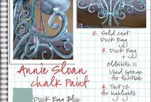 Chalky finish paint ideas